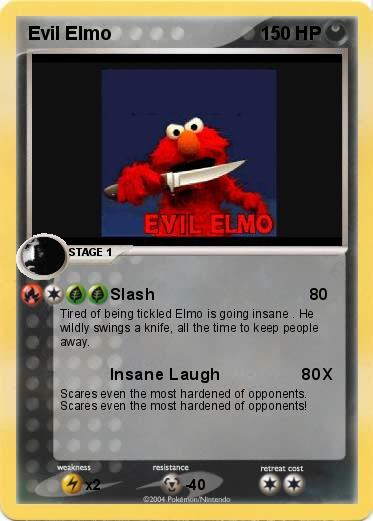 Pokemon Evil Elmo
