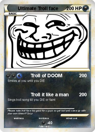 Pokemon Ultimate Troll face