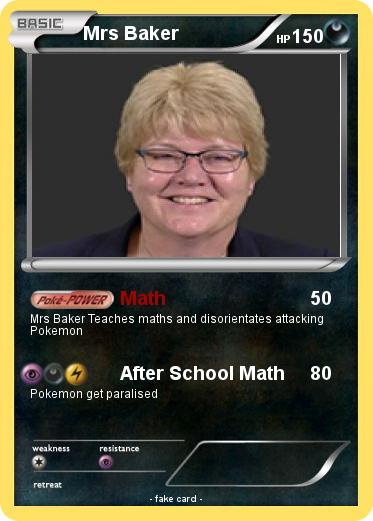 Pokemon Mrs Baker