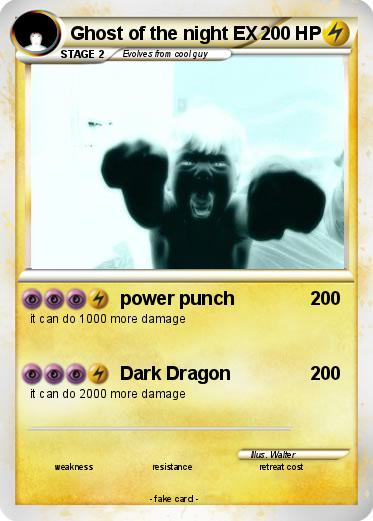 Pokemon Ghost of the night EX