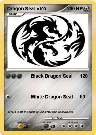 Pokemon Dragon Seal