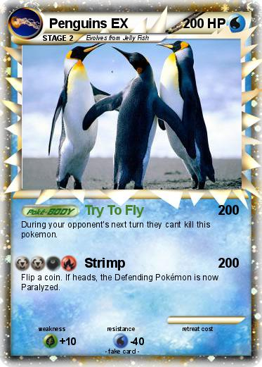 Pokemon Penguins EX