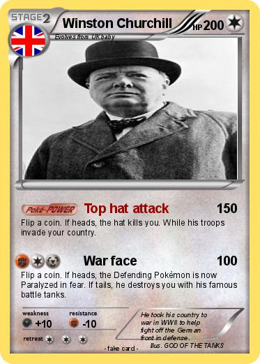 Pokemon Winston Churchill