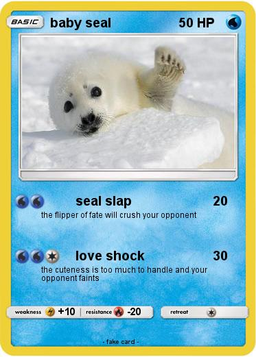 Pokemon baby seal