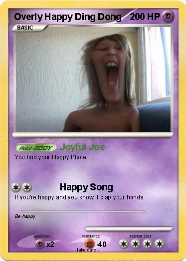 Pokemon Overly Happy Ding Dong