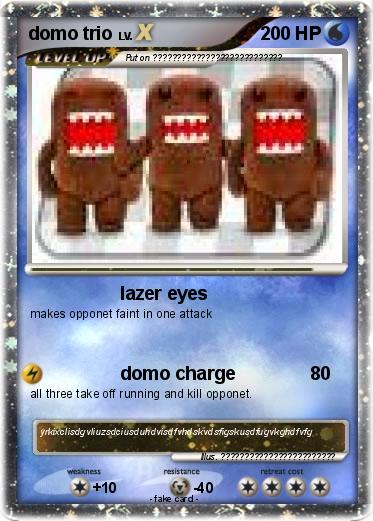 Pokemon domo trio