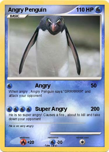 Pokemon Angry Penguin