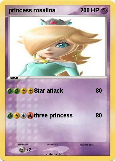 Pokemon princess rosalina