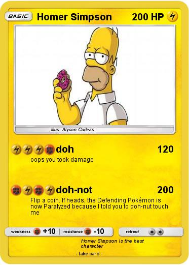 Pokemon Homer Simpson