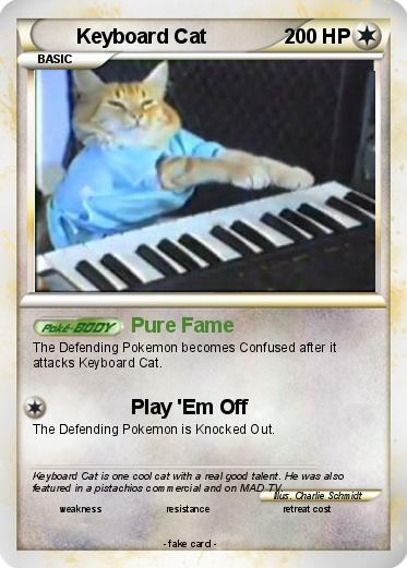 Pokemon Keyboard Cat