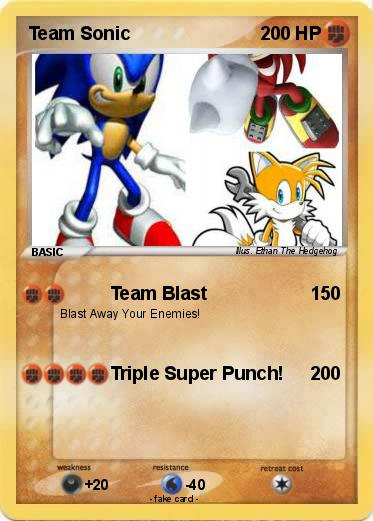 Pokemon Team Sonic