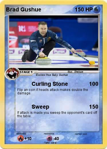 Pokemon Brad Gushue