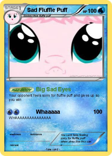 Pokemon Sad Fluffle Puff