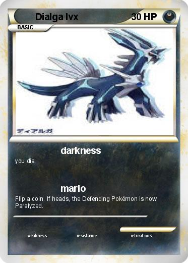Pokemon Dialga lvx