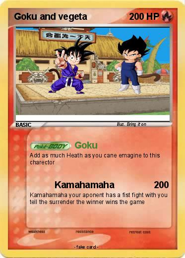 Pokemon Goku and vegeta