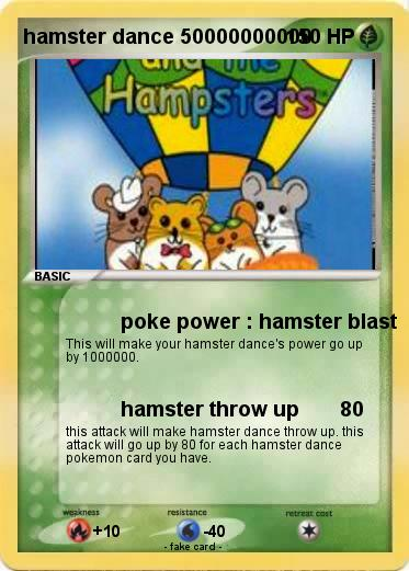 Pokemon hamster dance 50000000000
