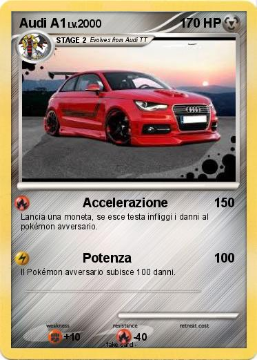 Pokemon Audi A1