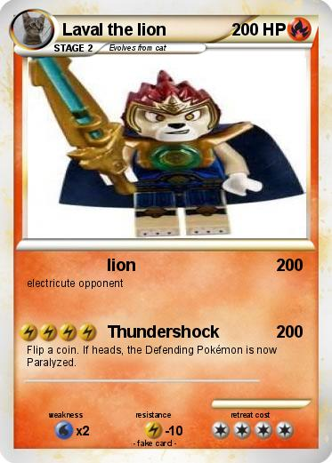 Pokemon Laval the lion