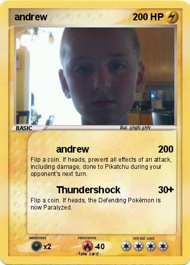 Pokemon andrew