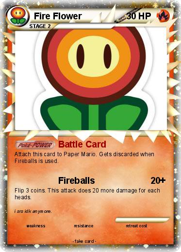Pokemon Fire Flower