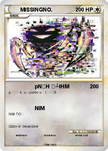 Pokemon MISSINGNO.