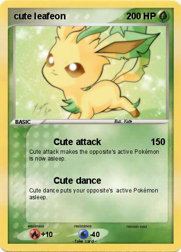 Pokemon cute leafeon