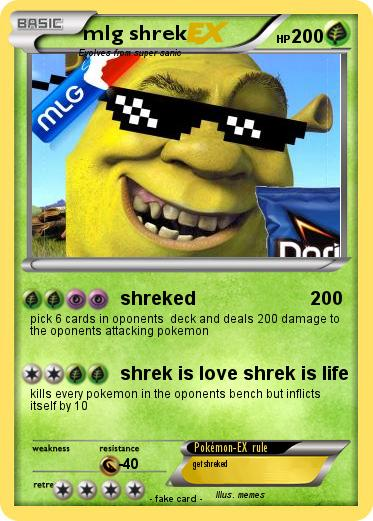 Pokemon mlg shrek