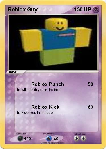 Pokemon Roblox Guy