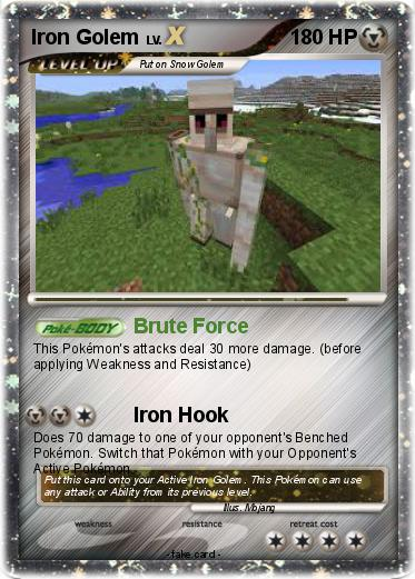 Pokemon Iron Golem