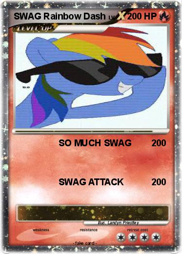 Pokemon SWAG Rainbow Dash