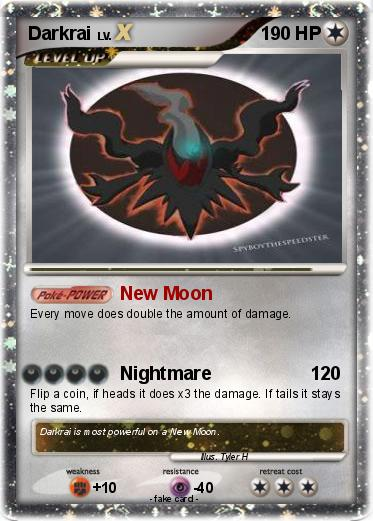 Pokemon Darkrai