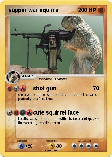Pokemon supper war squirrel