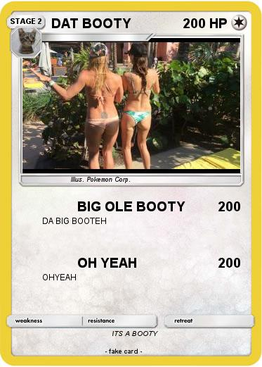 Pokemon DAT BOOTY