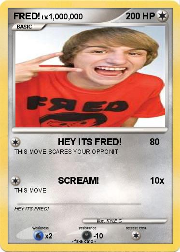 Pokemon FRED!