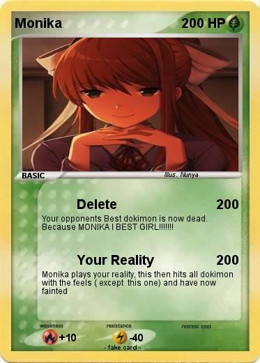 Pokemon Monika