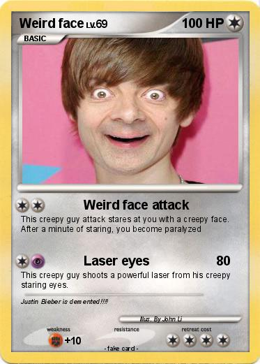 Pokemon Weird face