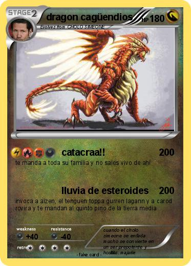 Pokemon dragon cagüendios