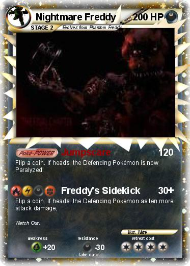 Pokemon Nightmare Freddy