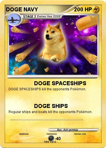 Pokemon DOGE NAVY