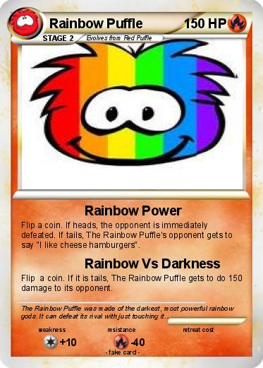 Pokemon Rainbow Puffle