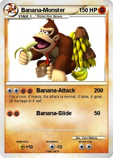 Pokemon Banana-Monster