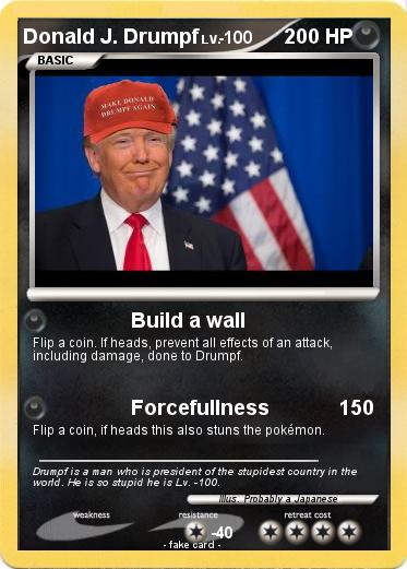 Pokemon Donald J. Drumpf