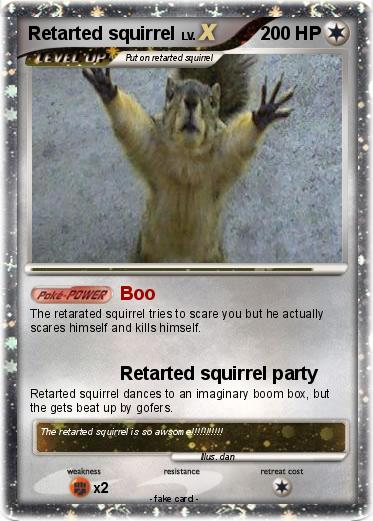 Pokemon Retarted squirrel