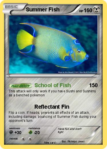 Pokemon Summer Fish