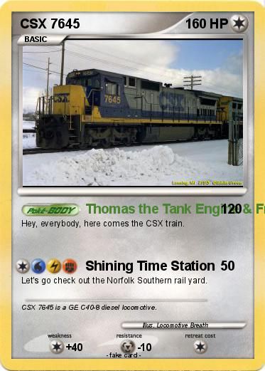 Pokemon CSX 7645