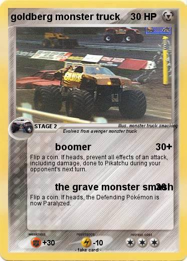 Pokemon goldberg monster truck