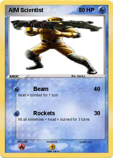 Pokemon AIM Scientist
