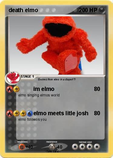Pokemon death elmo