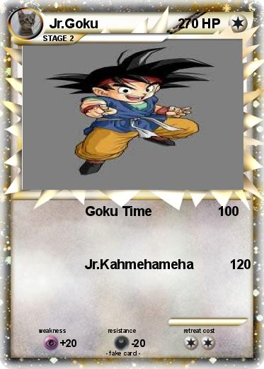 Pokemon Jr.Goku                      2