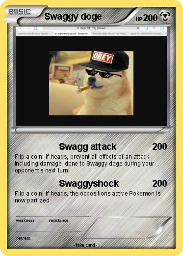 Pokemon Swaggy doge